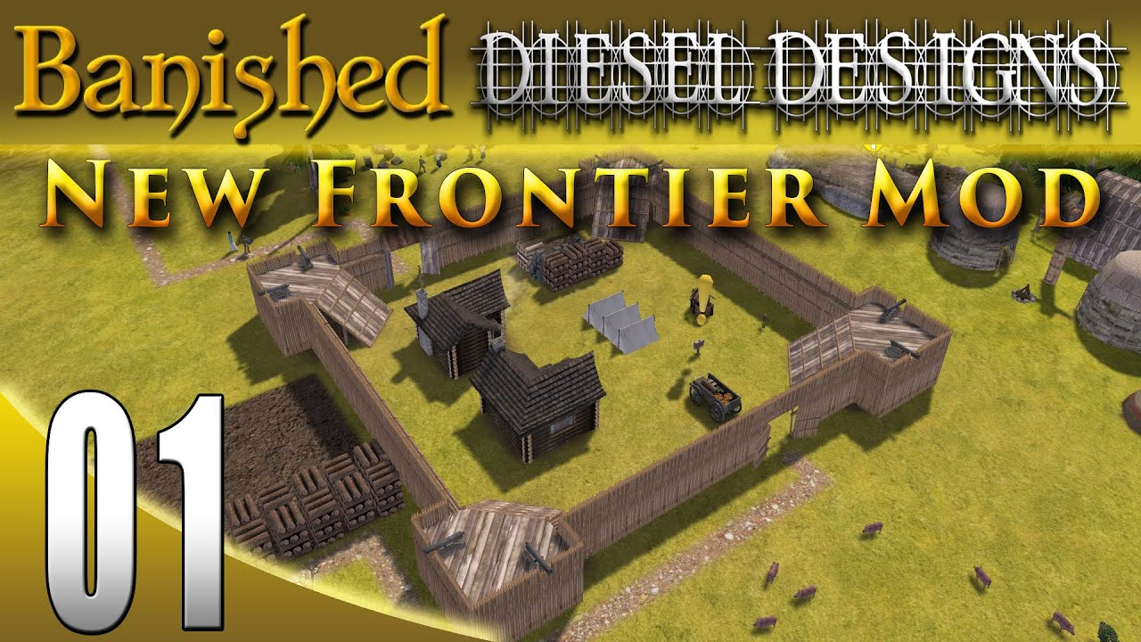 Banished Colonial Charter 1.4: EP01: New Frontier Mod ...