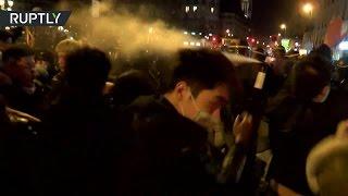В Париже не прекращаются столкновения между китайской диаспорой и полицией