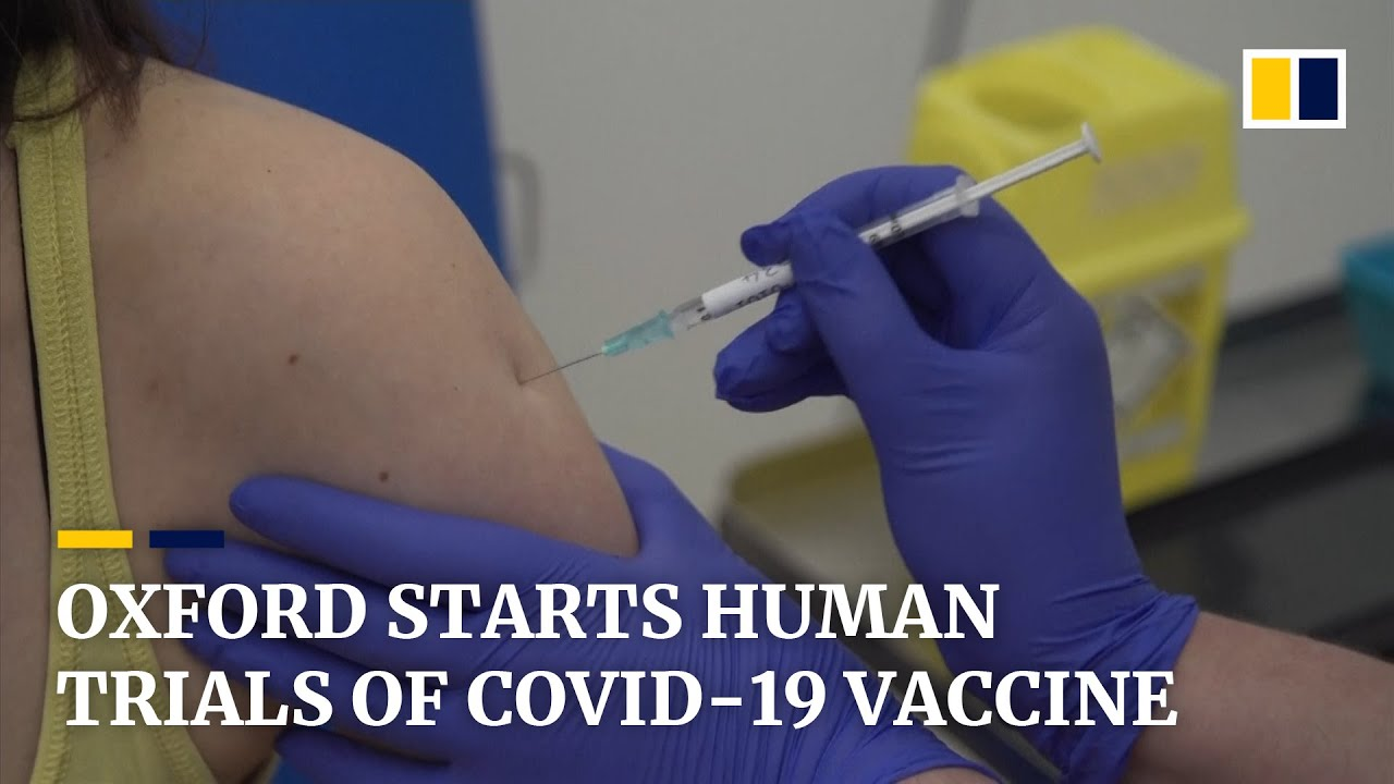 Covid 19 Vaccine Trial Starts In Oxford But Remdesivir Treatment Reportedly Flops In China Tests Youtube
