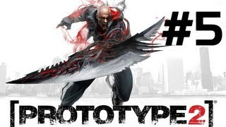 Prototype 2 - Parte 5 [Playthrough] A Maze Of Blood, Alpha Wolf, Fall From Grace, The Descent