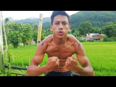 Top 3 Traps Workout | Homemade Concrete Weights | ANISH FITNESS