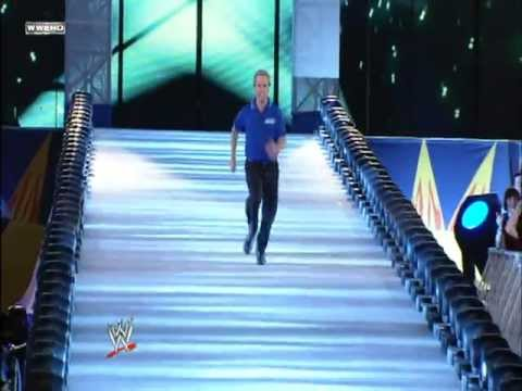 Charles Robinson sprint at WrestleMania 24