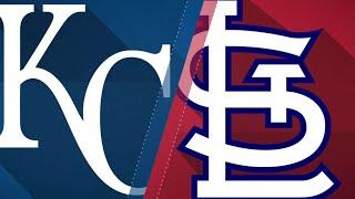 Mikolas, Cardinals shut out the Royals: 5/21/18