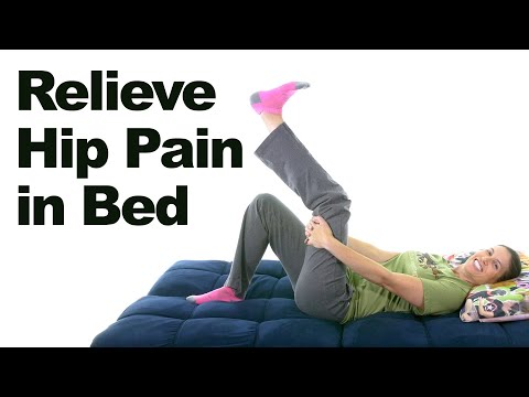 5 Hip Pain Relief Stretches & Exercises You Can Do In Bed