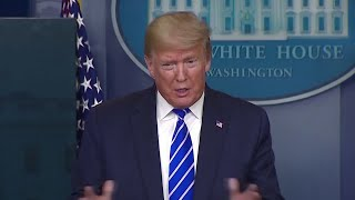 Trump suggests viral treatments including UV light and disinfectants