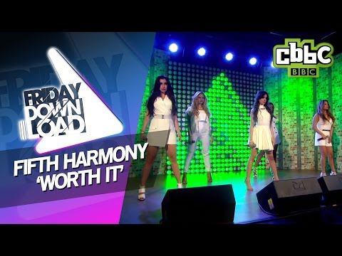 Fifth Harmony  Worth It   on CBBC Friday Download