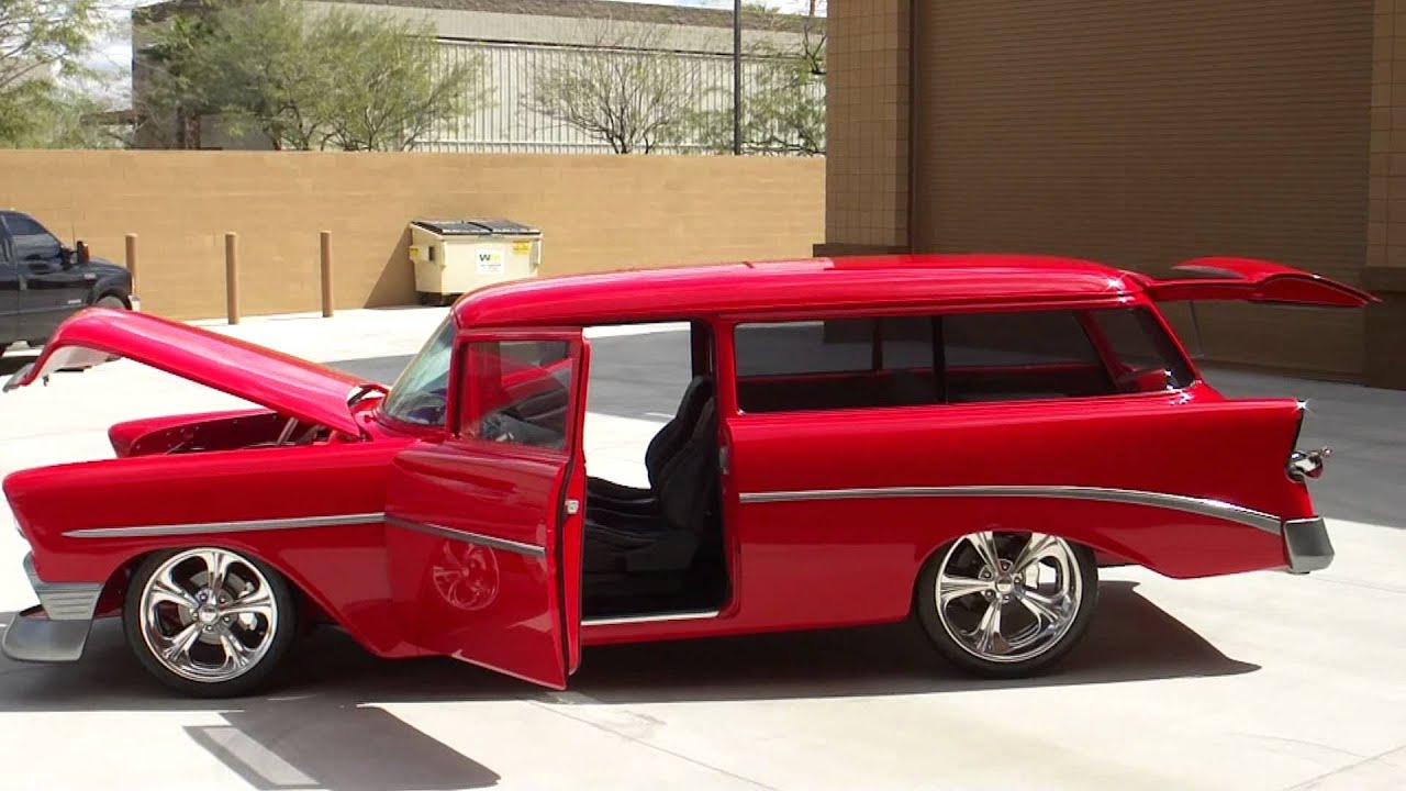 1955 chevrolet handyman 2 door wagon street rod - 1955 Chevrolet Handyman 2 Door Wagon Street Rod 55