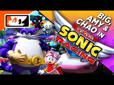 Team Sonic Racing - Amy Rose, Big the Cat, Chao Confirmed! (Sonic 27th  Party News)