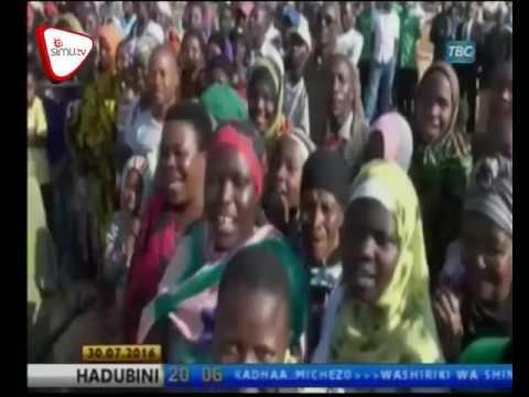 Ziara Ya Rais Magufuli Mkoani Singida