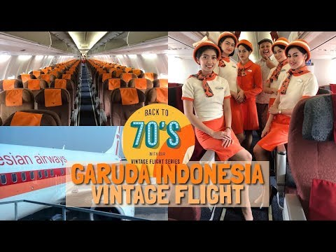ISTIMEWA! Garuda Indonesia RETRO Flight GA304 Jakarta ke Surabaya VLOG Mp3