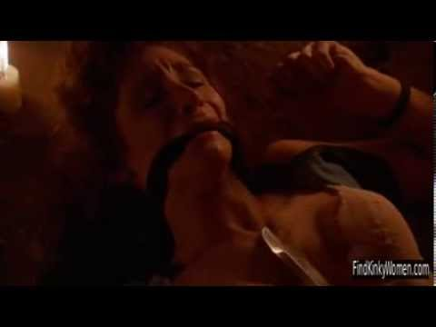 The First Power (1990) bound and stripped scene