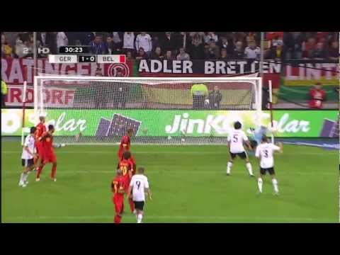 Mesut Özil Amazing Goal Germany vs Belgium