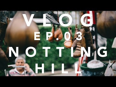 I Saw Bill Nighy In Notting Hill | Cinematic Travel Vlog