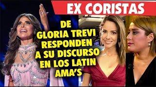 Ex Coristas De Gloria Trevi Reaccionan A Concurso De Gloria Trevi En Los Latin Ama's