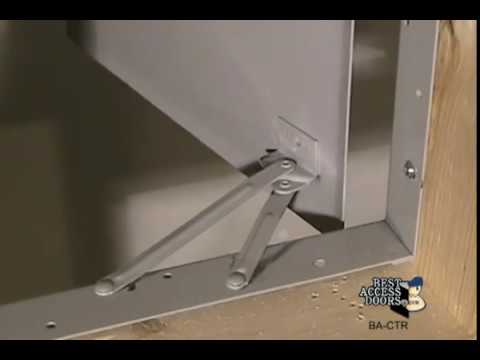 Merveilleux Aesthetic Access Door With Hidden Flange   BA CTR   Best Access Doors