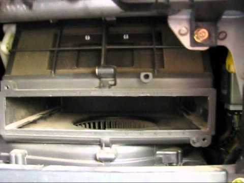 How To Install A Cabin Air Filter In 02 Mitsubishi Lancer