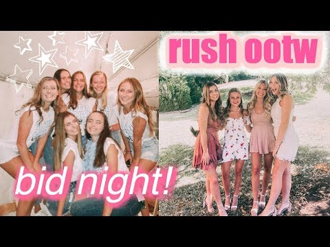 RUSH OUTFITS OF THE WEEK | Sorority Recruitment Vlog + My Experience