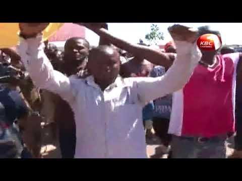 Anti IEBC demonstrations in Kisumu turn chaotic