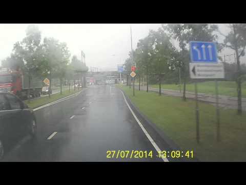 Wateroverlast Amsterdam westpoort
