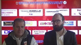 Interviste post partita Fratres Perignano - San Miniato Basso