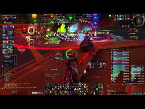 warlock affliction pov vectis mythic