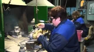 Производство Кольчугинских подстаканников(, 2015-08-09T17:19:13.000Z)