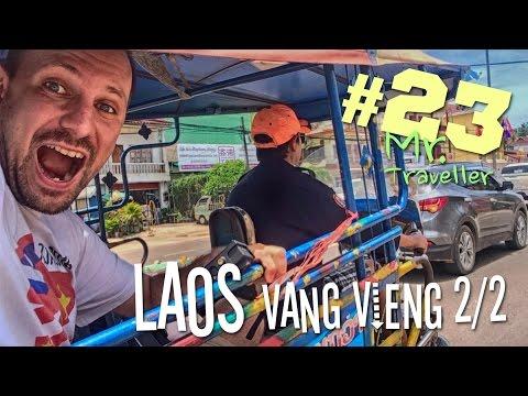 Mr. Traveller #23 Laos | Vang Vieng cz. 2/2
