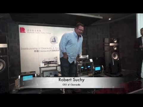 Clearaudio CEO Robert Suchy in Hong Kong (feverSound.com)