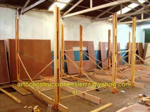 Caba as de madera construcci n industrializadas youtube - Construccion de cabanas de madera ...