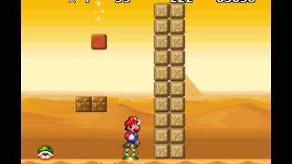 New Retro Mario Bros - Walkthrough CRASHED in the second castle, have to try that again!! - User video