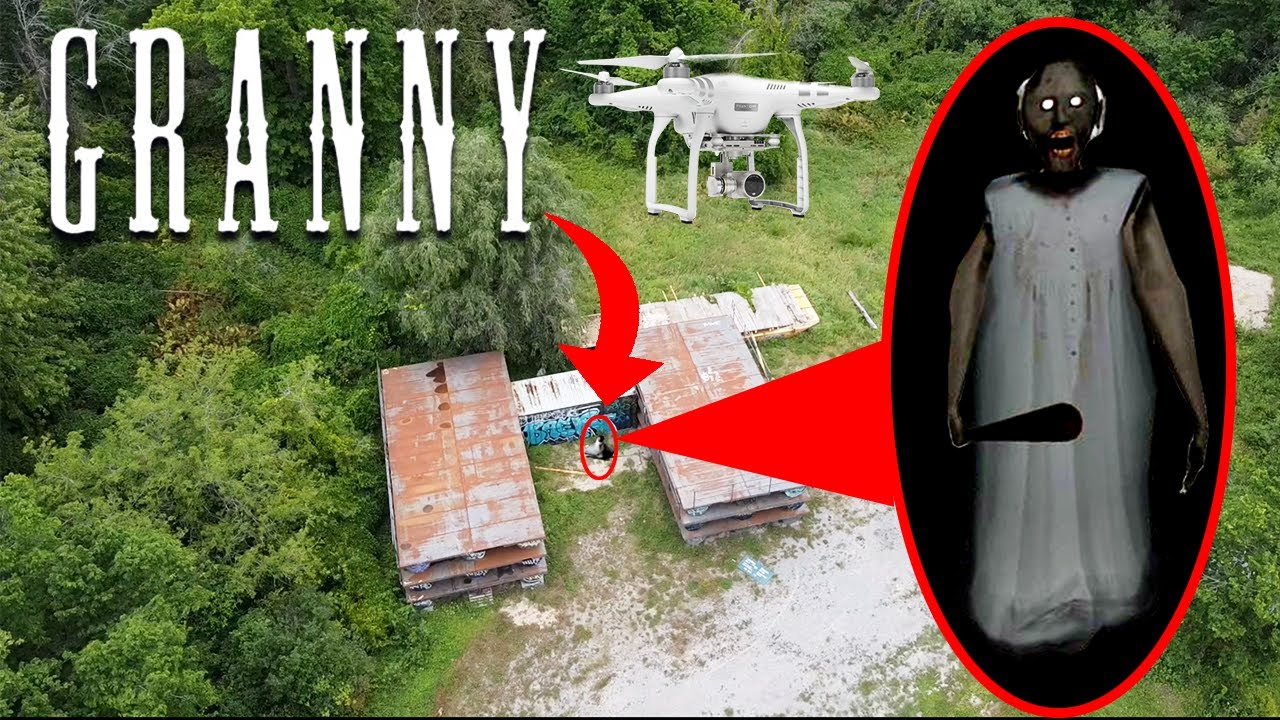 Download DRONE CATCHES CURSED GRANNY AT GRANNYS HOUSE IN THE MIDDLE OF THE FOREST | GRANNY CAUGHT ON DRONE!
