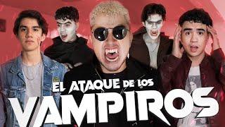 El ATAQUE DE LOS VAMPIROS -  LA PELÍCULA - #MESDELTERROR - (Vampiros en la vida real) - Changovisión