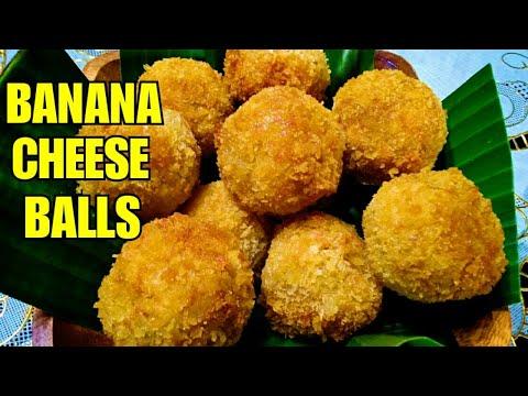 BANANA CHEESE BALLS 💓 Perfect For BUSINESS   Banana Balls With Cheese Filling