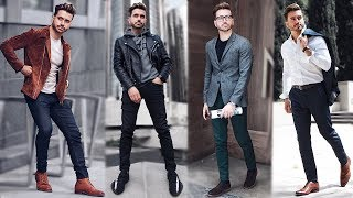 MEN'S OUTFIT INSPIRATION | FALL FASHION 2017 | EASY FALL OUTFITS FOR MEN