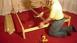 Platform Bed - Assembly - Sandia