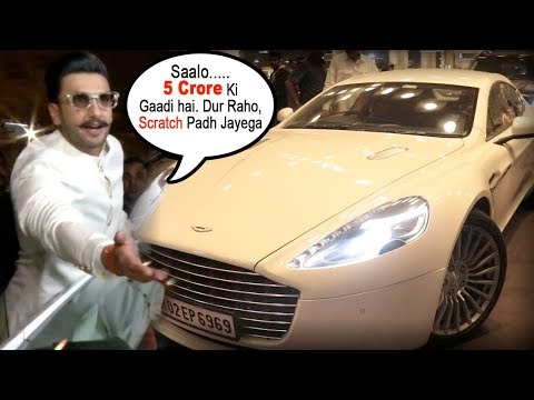 Ranveer Singh Angry* on Media For Scratching His 5 Crore