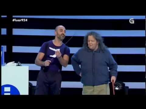 A ITV dos 100 anos. O Gordo e o Calvo no Luar da TVG. 06-12-13