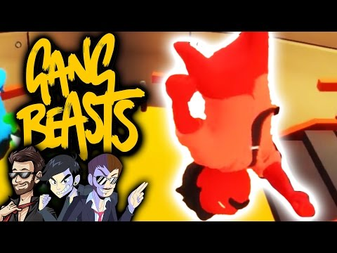 AND IN THIS CORNER - Gang Beasts - Ep 2 - NateWantsToBattle and Dookieshed ft. ShadyPenguinn