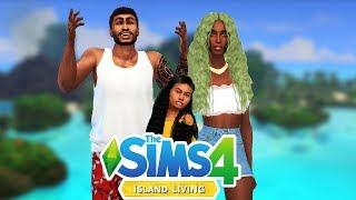 SIMS 4|*NEW SERIES* ISLAND LIVING|AQUA 🐟🐬💛EP0| CAS +BACKSTORY