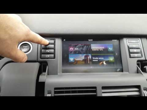 Land Rover Discovery Sport 2016 - Android Software On The Factory Touch Screen