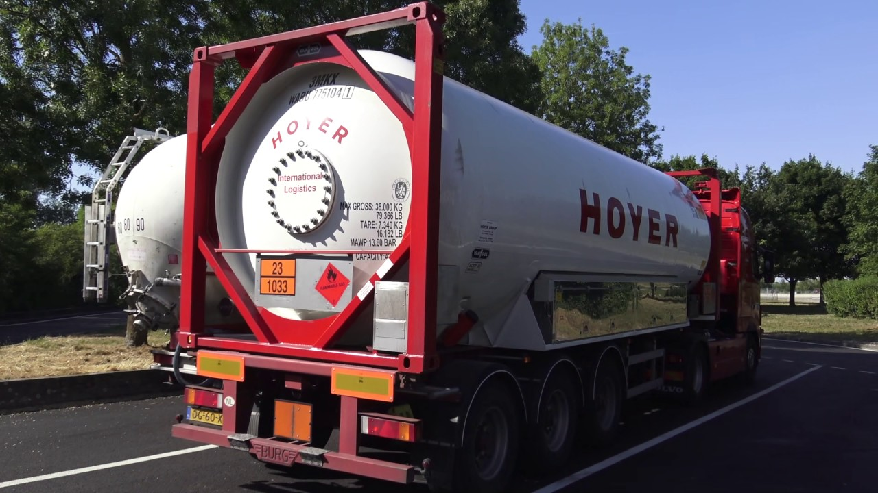 """Harry on the road to Spain at """"Siem Stout Transport"""""""