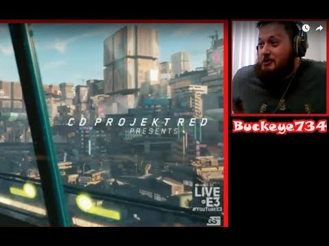 Cyberpunk 2077 Reaction - Microsoft E3 2018