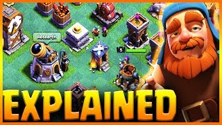 Best Builder Base Defenses Explained + Traps, Gem Mine & Clock Tower | Clash of Clans