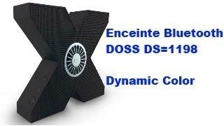 Enceinte Bluetooth DOSS DS-1198 Asimom X1