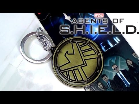 MARVELS Agents of S H I E L D  Keychain