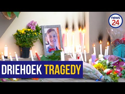 WATCH: Hundreds gather for emotional night vigil at Hoërskool Driehoek