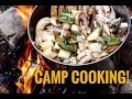 Green Chile Potato Stew  Camp Cooking  -Junkyard Fox