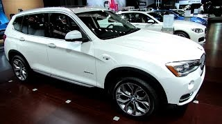 2015 BMW X3 xDrive 28d - Exterior and Interior Walkaround - 2014 New York Auto Show
