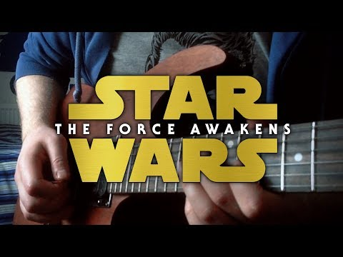 Star Wars: The Force Awakens Trailer Theme on Guitar + TAB