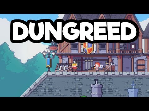 Dungreed Gameplay Impressions - Dungeon Diving City Upgrading Adventure!